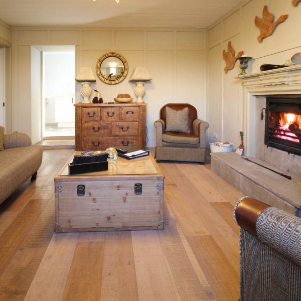 The Lounge in West Lodge Self Catering near Fort William